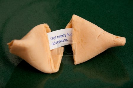 Photo for Get ready for adventure fortune cookie - Royalty Free Image