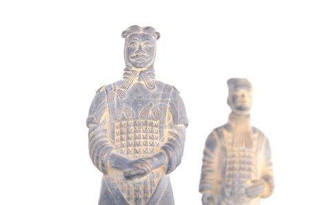 Terracotta warriors. Warriors of Xian.