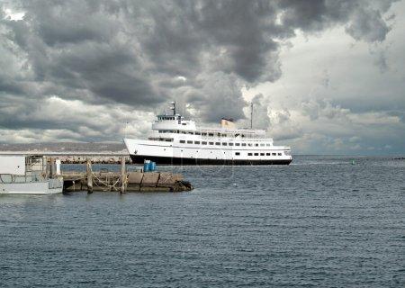 Barco de ferry a Isla Block, RI