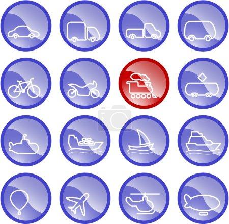 Ttransportation icons