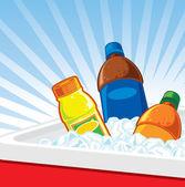 Drinks on ice