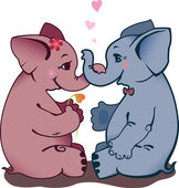 Dvě slon