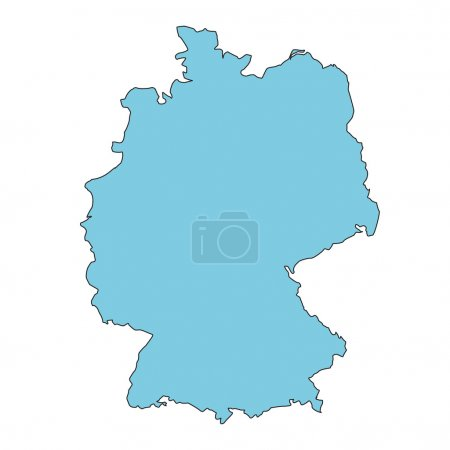 Germany clear map