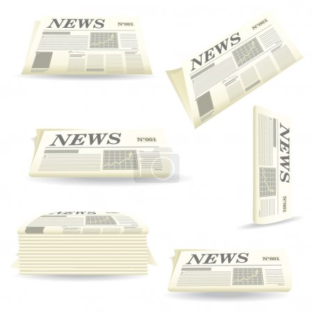 Different newspapers