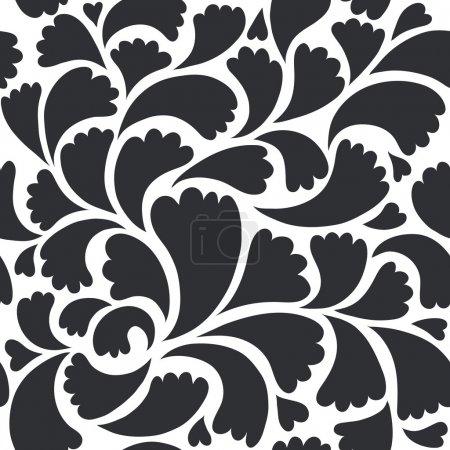 Illustration pour Fond floral sans couture - image libre de droit