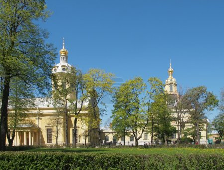The Peter and Paul Fortress in Saint Petersburg.