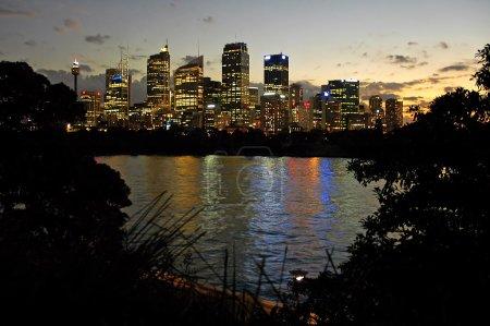 Sydney night scenery