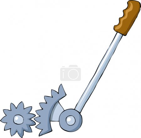 Lever on a white background, vector illustration...
