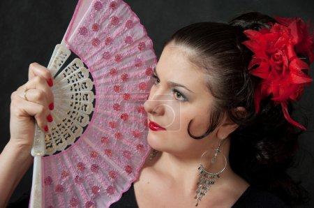 Gypsy with a Fan