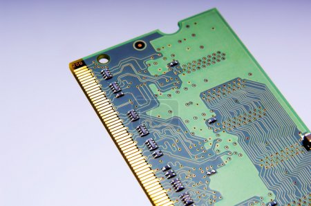 Photo for Detail of an electronic circuit board - Royalty Free Image
