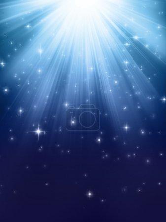 Foto de Luces brillantes y destellos de arriba - Imagen libre de derechos