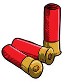 Hand drawn illustration of shotgun shells