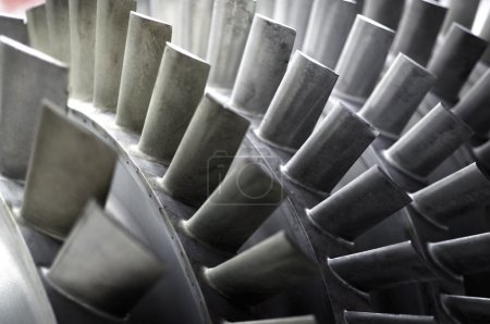 Blades of a Jet Engine
