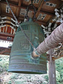 Bronze Bell in a Japanese temple