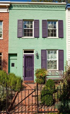Washington Row House Home Italianate Style Fence