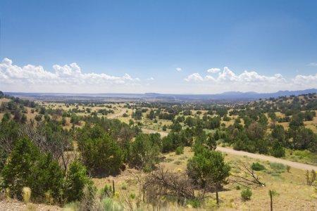 High Desert South of Santa Fe, New Mexico