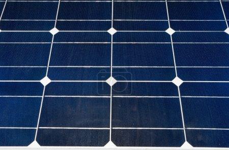 Foto de Cerca del panel de solar fotovoltaico (pv). - Imagen libre de derechos