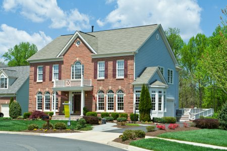 Sale Brick Single Family House Home Suburban USA