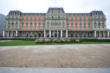 Photo pour Palais wilson à Genève, Suisse. le Bureau du Haut Commissariat aux droits de l'homme a ses bureaux ici. la maison anciennement à la Ligue de - image libre de droit