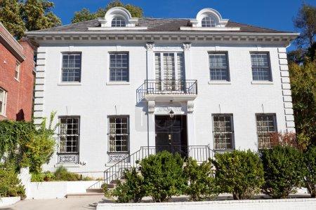 Photo pour Résidence de l'ambassadeur de Chypre, dans le quartier de l'ambassade de Washington DC, style Second Renaissance italienne Urban Palace. C'était à l'origine une maison privée. . - image libre de droit
