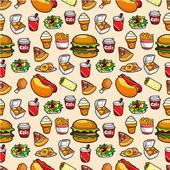 seamless fast food pattern seamless fast food pattern