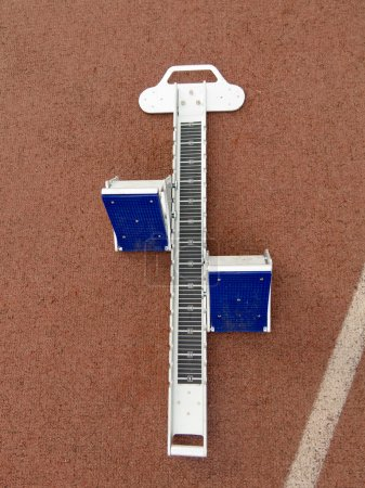 Starting Blocks Work For Track Runners