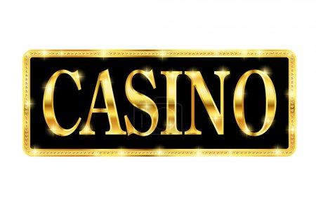 Illustration pour Casino - image libre de droit