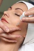 série de salon de beauté, traitement spécial peau