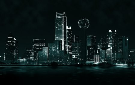 Photo for Dallas, Texas bei Nacht - Royalty Free Image