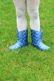 子供白いタイツの足の写真