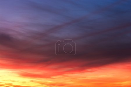 Photo for Colorful sky texture - Royalty Free Image