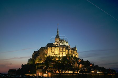 Foto de Mont st michel, Francia - Imagen libre de derechos